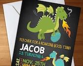 Dragon Invitation - Drago...