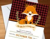 Fox Invitation - Fox Firs...