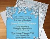 Winter Wonderland Invite ...