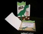 Dinosaur Birthday Invitat...