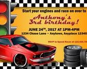 Racing Birthday - Car Inv...