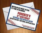 Baseball Invitation - Bas...