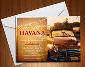 Havana Nights Invite - Ha...