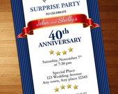Anniversary Party Invitat...