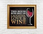 Wine Sign - Printable Sig...