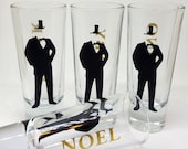 Groomsmen Shot Glasses - ...