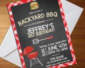 BBQ Invitation - BBQ Birt...
