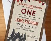Happy Camper Invite - Cam...