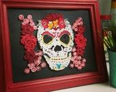 Sugar Skull Art - Quillin...