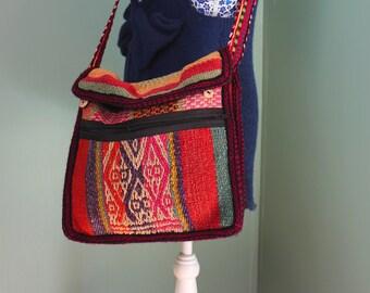 Beautiful Hand woven Peruvian Hand bag