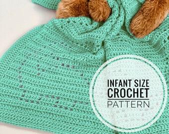 Crochet Baby Blanket Pattern Etsy