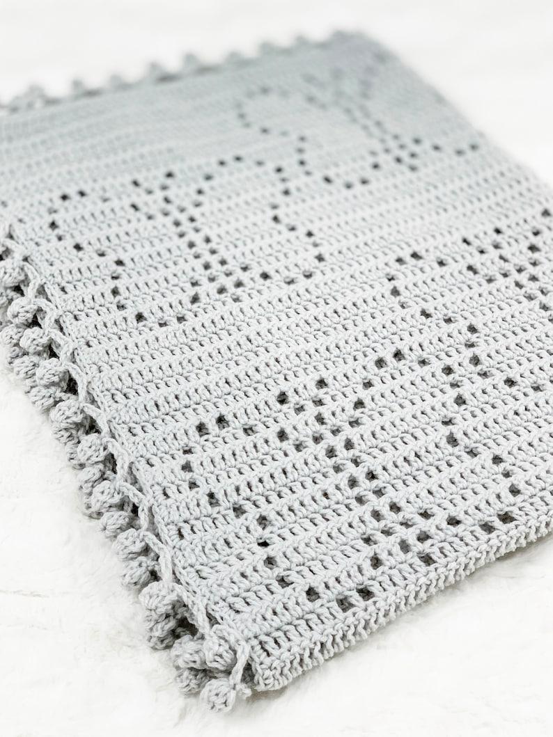 Crochet Filet Blanket Filet Crochet Pattern Crochet Baby Blanket Pattern Baby Blanket Crochet Pattern VANESSA Blanket Pattern Butterfly