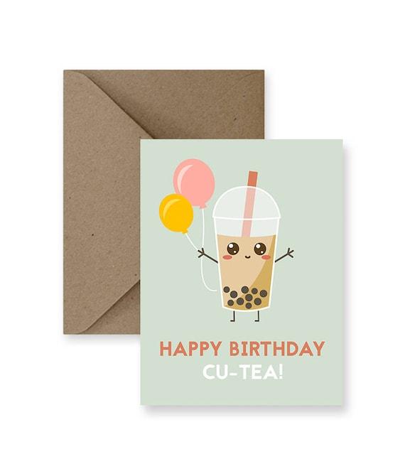 cute birthday card for friend cute birthday card for him cute etsy