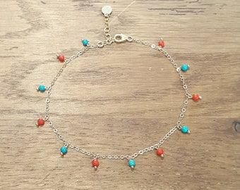 Mila ankle chain