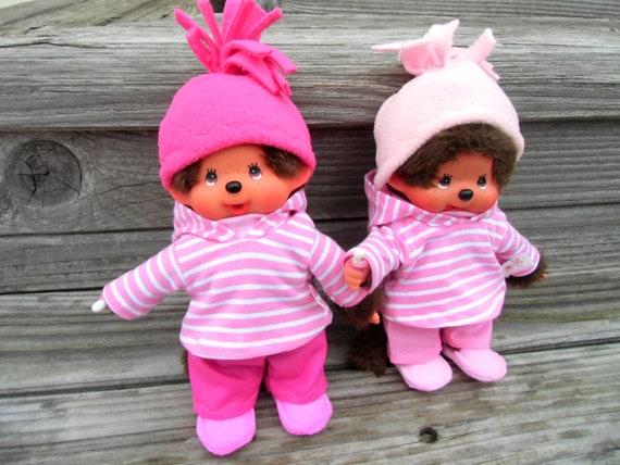 Dressset 4-TG. For MONCHICHI Gr. 20 Hoodie Pink