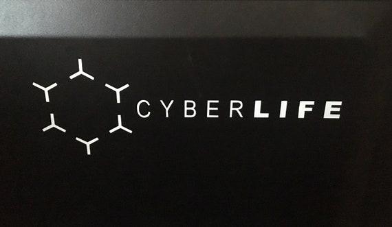 Detroit Become Human Cyberlife Logo Vinyl Sticker Etsy