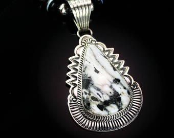White Fox Creation: Exceptional Heirloom Quality White Buffalo Necklace
