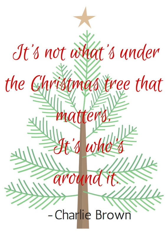 Charlie Brown Christmas Tree Quote.Charlie Brown Christmas Tree Quote