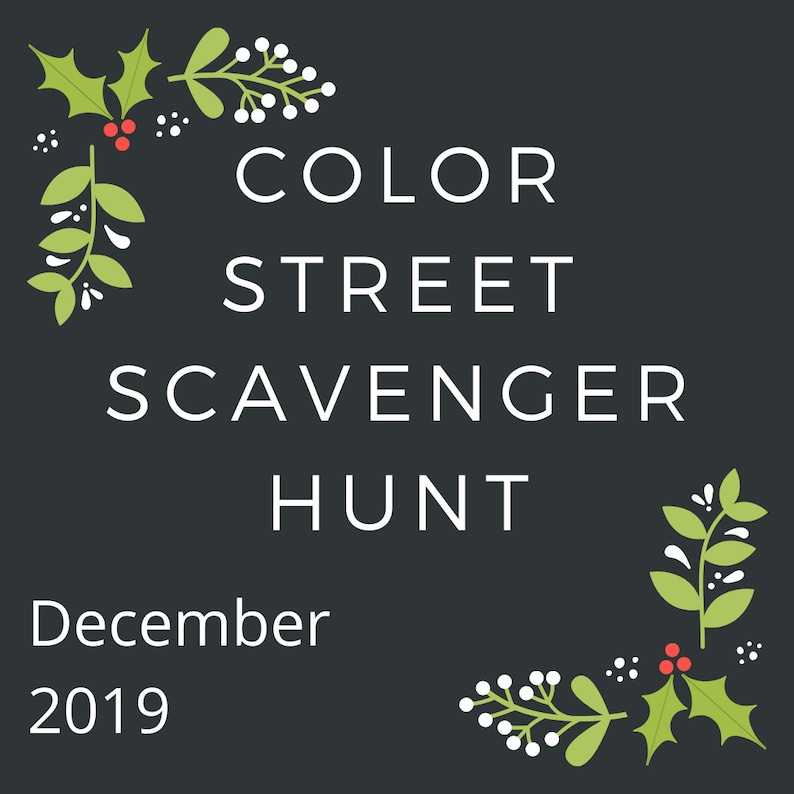 Color Street Nail Bar Digital Party Game Winter 2019!