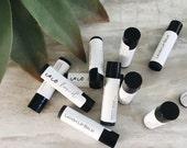 LIP BALM sweet mint Organic mint chapstick peppermint essential oil Organic Lip Balm Essential Oils chapstick balm