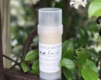 CITRUS FRESH GENTLE deodorant // gentle deodorant // cruelty free // aluminum free // non toxic // organic deodorant // natural deodorant //