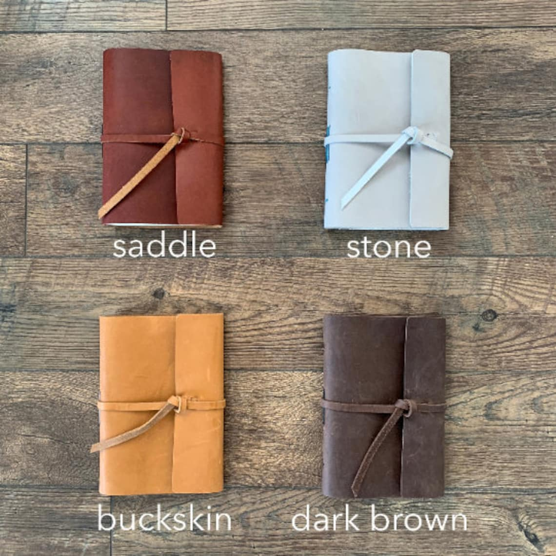 Leather US Travel Scratch Journal Topographic National