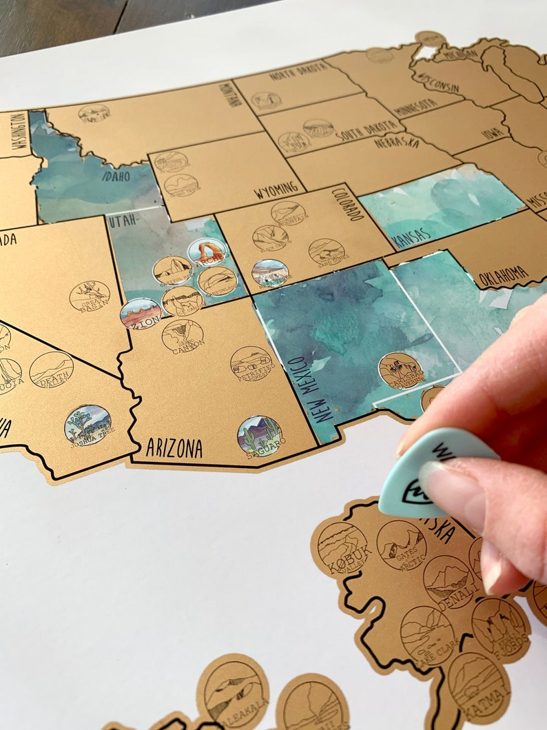 National Park Scratch Off Map - Gold - United States of America Travel on signature usa map, white usa map, black usa map, folding usa map, gold usa map, red usa map,
