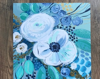 """Floral Giclee Print- """"Hidden Stories"""""""