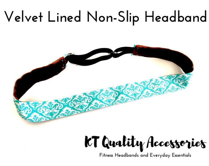 Running Headband,  Fitness Headband, Workout Headband, Nonslip, No Slip Sports Headband, Adjustable