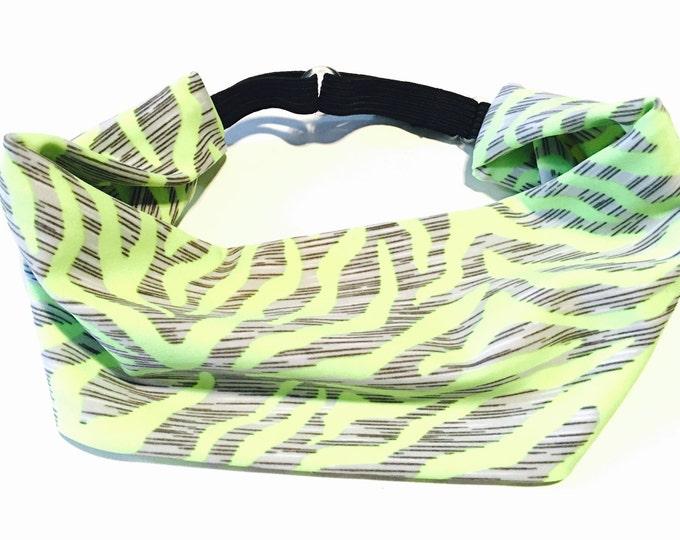 Yoga Headband, Running Headband, Fitness Headband, Workout Headband, Wide Headband, Crossfit Headband, Adjustable Headband