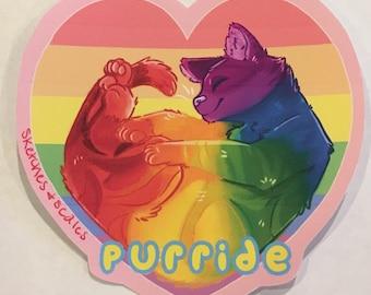 Purride Sticker