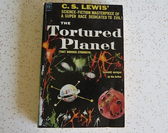 C.S. Lewis The Tortured Planet, Vintage Avon Paperback Sci Fi Book