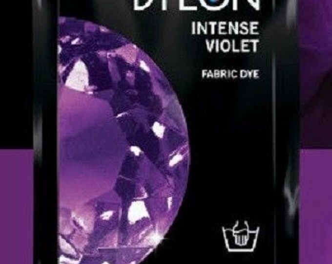 Fabric Dye Hand Dye Intense Black, Jeans Blue, Deep Violet , Vintage Blue Many colours to select.