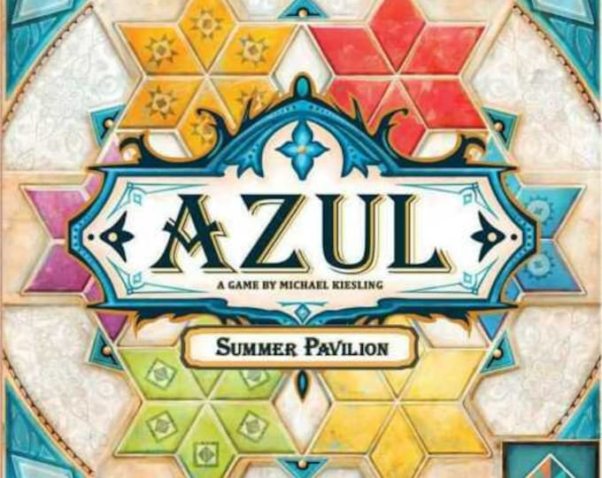 Azul Summer Pavilion - New Release Tile Game  Inspiring Quilters, Tilers and Graphic Designers -  by Next Move