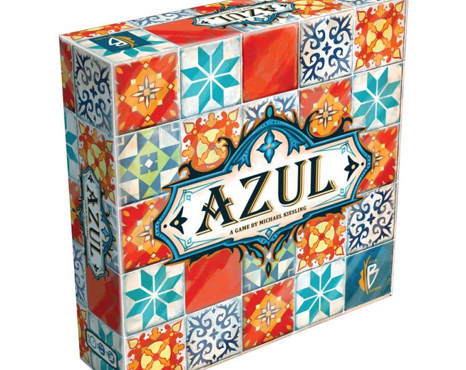 Azul  - The Original Award winning Tile Game  Inspiring Quilters, Tilers and Graphic Designers -  by Next Move