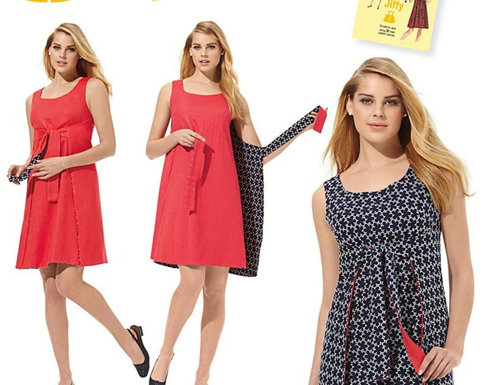 Simplicity Pattern #1356  70S Style Wrap dress  Simple Dress Sewing Pattern All sizes Paper Pattern - Jiffy