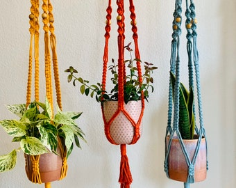 DIY Kit: Colorful Plant Hanger
