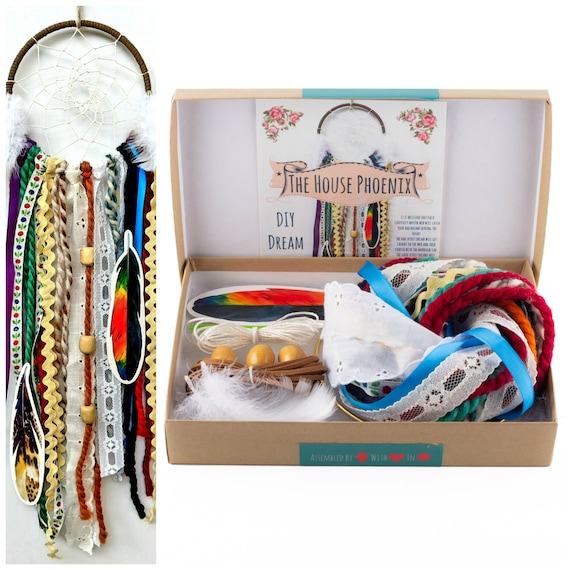 1559d79a9f DIY Dream Catcher Kit Birthday Gift For Kids Housewarming Gift