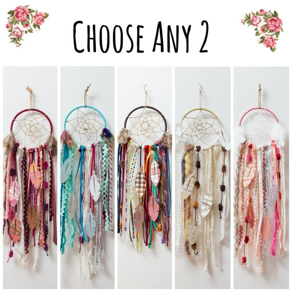Choose any 2 diy dream catcher kits do it yourself craft kit etsy image 0 solutioingenieria Gallery