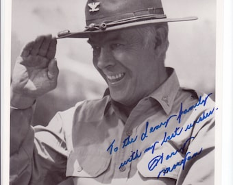 First pilot to exceed the speed of sound CHUCK YEAGER Signed autograph autographed photo w Letter of Authenticity with 2 free bonus photos