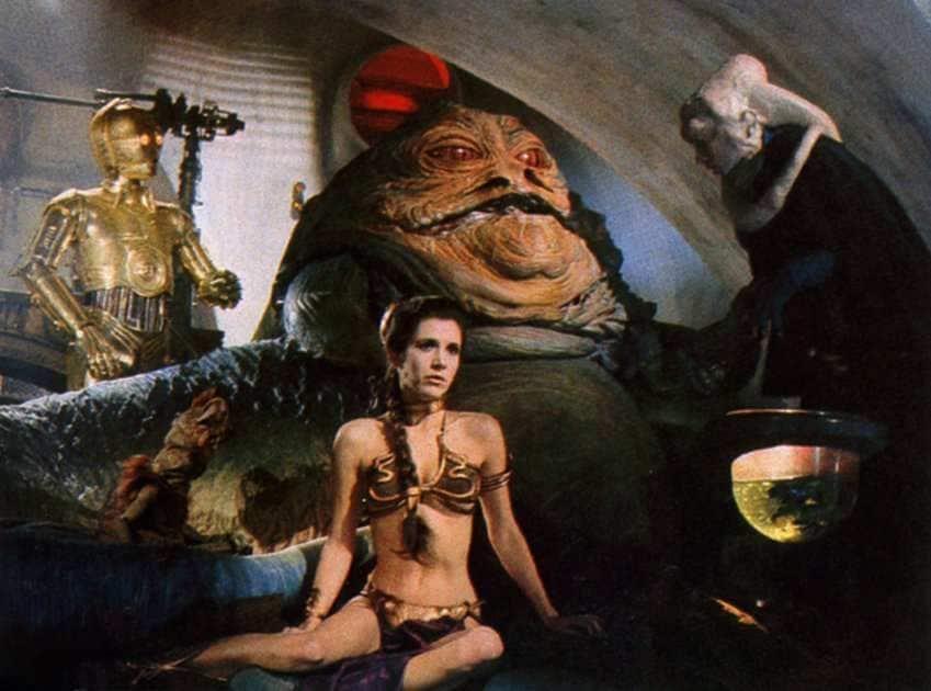 Jabba le Hutt Crime Lord Mini Figure Star Wars le retour du jedi Vendeur Britannique