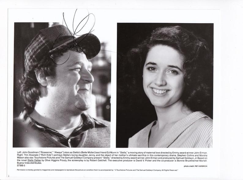 John Goodman autograph signed autographed 8x10 photo with 3 free bonus  prints the star of ROSEANNE the Big Lebowski O Brother Where Art Thou