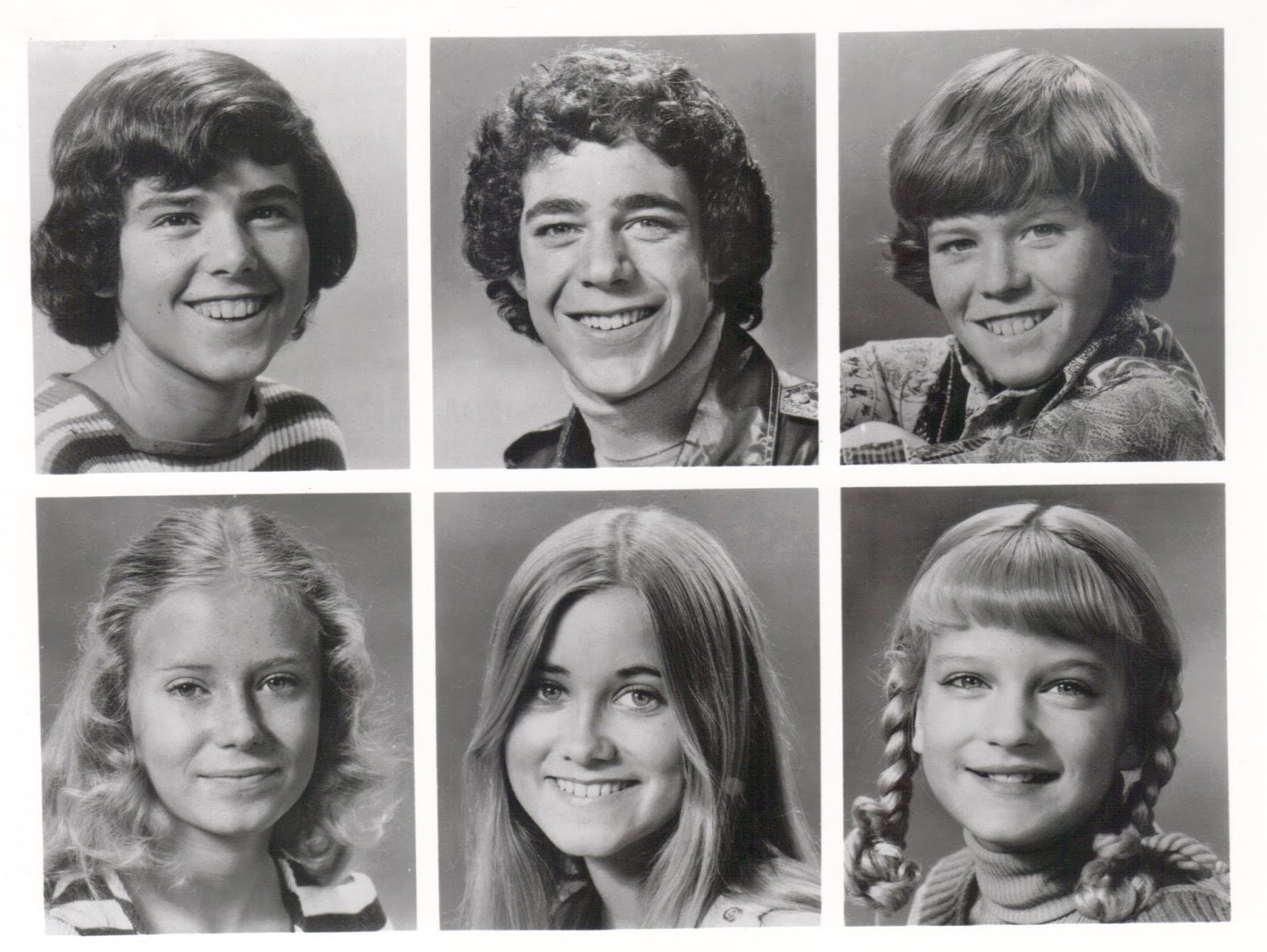 Brady Bunch Style Christmas Card | www.topsimages.com