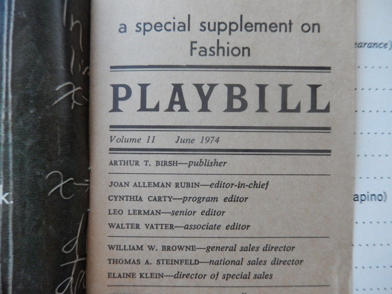 Circle in the Square Joseph E Levine Theatre Autograph Autographed program Star of Body Beneath Scapino Playbill Signed by GAVIN REED 1974