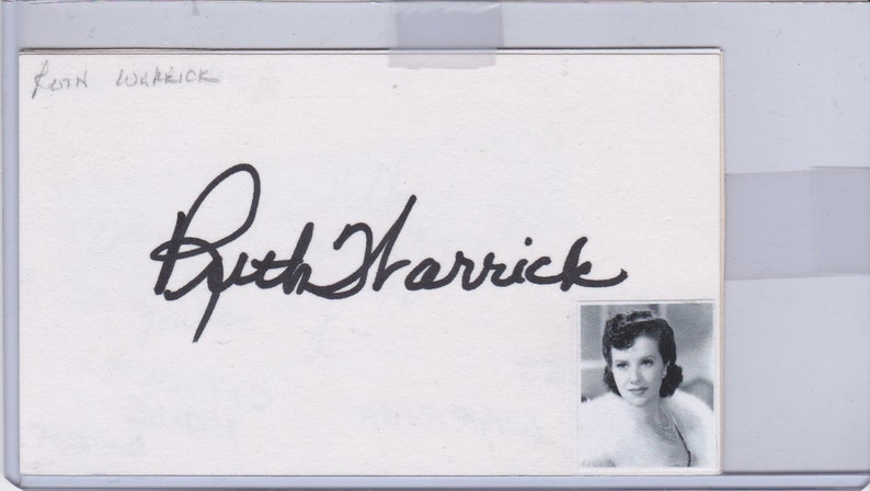 Robert Wise Signed Index Card Autographed Signature Sound Of Music Star Trek Autographs-original Cards & Papers