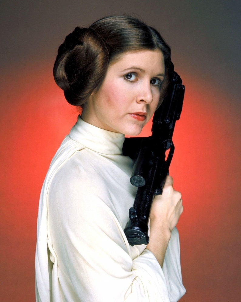 Signed Book Jacket by Carrie Fisher Princess  Leia Organa Autograph Signed autographed star of Star Wars New Hope the Empire Strikes Back