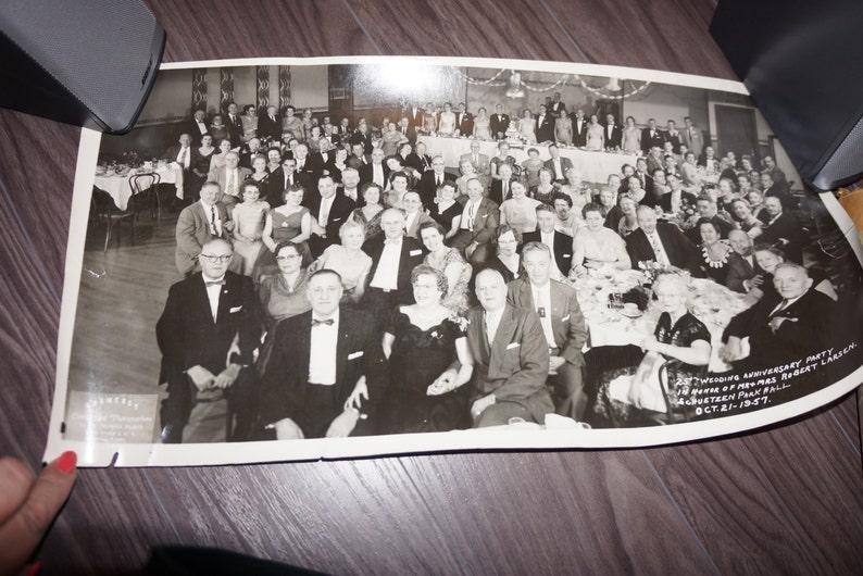 Larsen Schuetzen Park Hall Grramercy Commercial Photographers Vintage Stamp Vintage Mail Mailing /& Mrs Vintage photo 1957 Mr
