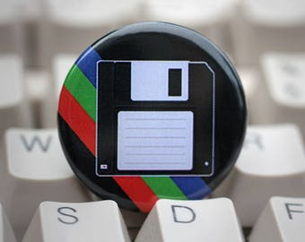 "Floppy Disk 1.25"" Pinback Button"