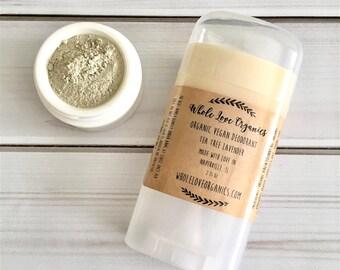 Armpit DETOX BUNDLE - Organic Deodorant - Vegan Deodorant - Aluminum Free - Underarm Detox Clay - Bentonite Clay