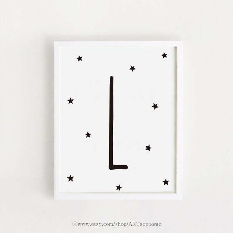 photo relating to Letter L Printable named Letter L Printable nursery wall artwork first L print Black and White Child space indication Decor Youngsters poster Monogram Electronic artwork Fast down load